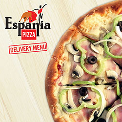 Pizza Espania Delivery Menu Thumbnail